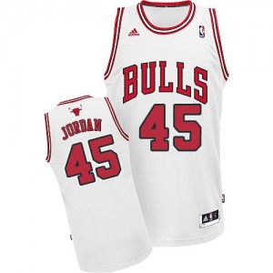 Maillot NBA Swingman Michael Jordan #45 Chicago Bulls Home Blanc - Homme