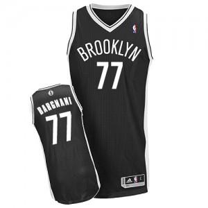 Brooklyn Nets #77 Adidas Road Noir Authentic Maillot d'équipe de NBA prix d'usine en ligne - Andrea Bargnani pour Homme