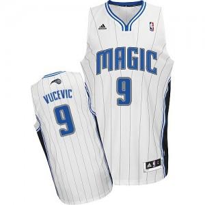 Maillot NBA Orlando Magic #9 Nikola Vucevic Blanc Adidas Swingman Home - Homme