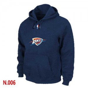 Sweat à capuche NBA Marine Oklahoma City Thunder Homme