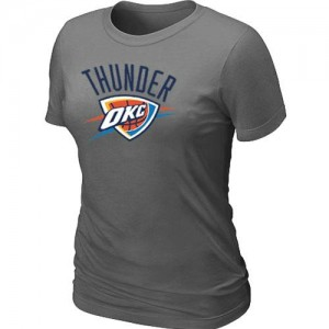 T-Shirts NBA Oklahoma City Thunder Gris foncé Big & Tall - Femme