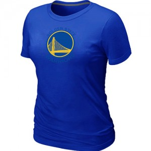T-shirt principal de logo Golden State Warriors NBA Big & Tall Bleu - Femme
