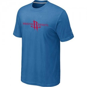 T-Shirts Bleu clair Big & Tall Houston Rockets - Homme