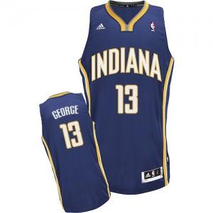 Indiana Pacers #13 Adidas Road Bleu marin Swingman Maillot d'équipe de NBA Promotions - Paul George pour Enfants
