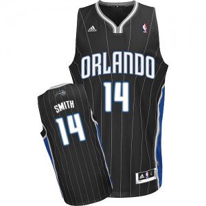 Maillot NBA Swingman Jason Smith #14 Orlando Magic Alternate Noir - Homme