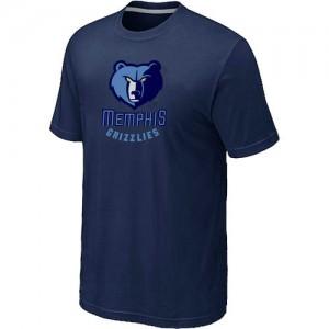 Memphis Grizzlies Big & Tall T-Shirts d'équipe de NBA - Marine pour Homme