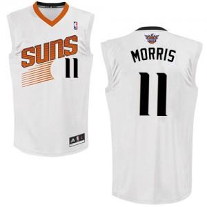 Phoenix Suns Markieff Morris #11 Home Swingman Maillot d'équipe de NBA - Blanc pour Homme