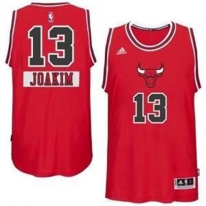 Maillot Adidas Rouge 2014-15 Christmas Day Swingman Chicago Bulls - Joakim Noah #13 - Homme