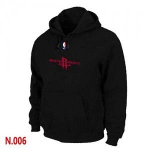 Pullover Sweat à capuche Houston Rockets NBA Noir - Homme