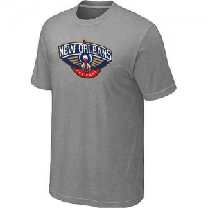 T-Shirts NBA New Orleans Pelicans Big & Tall Gris - Homme