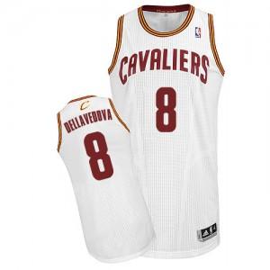 Maillot NBA Authentic Matthew Dellavedova #8 Cleveland Cavaliers Home Blanc - Homme