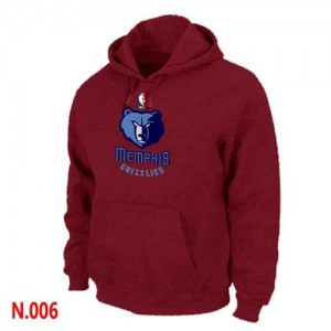 Memphis Grizzlies Sweat à capuche d'équipe de NBA - Rouge pour Homme
