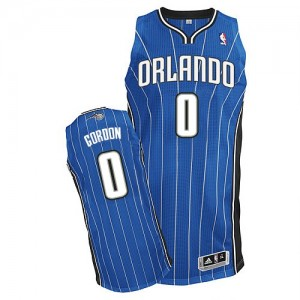 Orlando Magic Aaron Gordon #0 Road Authentic Maillot d'équipe de NBA - Bleu royal pour Homme