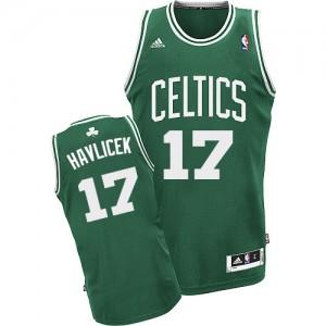 Maillot NBA Swingman John Havlicek #17 Boston Celtics Road Vert (No Blanc) - Homme