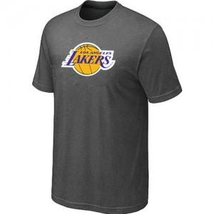 Los Angeles Lakers Big & Tall T-Shirts d'équipe de NBA - Gris foncé pour Homme
