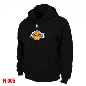 Sweat à capuche Noir Los Angeles Lakers - Homme