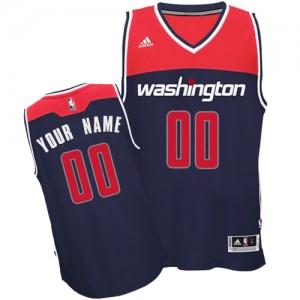 Washington Wizards Personnalisé Adidas Alternate Bleu marin Maillot d'équipe de NBA en soldes - Swingman pour Femme