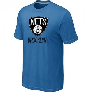 Brooklyn Nets Big & Tall Bleu clair T-Shirts d'équipe de NBA boutique en ligne - pour Homme