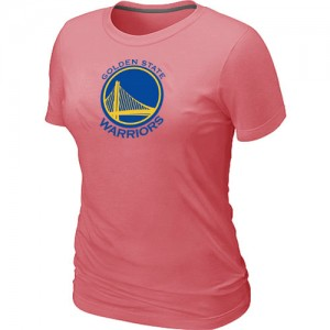 T-Shirts Rose Big & Tall Golden State Warriors - Femme
