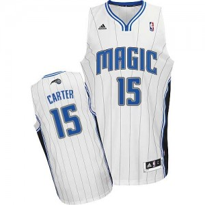 Maillot NBA Swingman Vince Carter #15 Orlando Magic Home Blanc - Homme