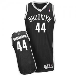 Brooklyn Nets #44 Adidas Road Noir Authentic Maillot d'équipe de NBA en ligne - Bojan Bogdanovic pour Homme