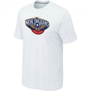 T-Shirts NBA New Orleans Pelicans Big & Tall Blanc - Homme