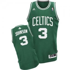 Boston Celtics Dennis Johnson #3 Road Swingman Maillot d'équipe de NBA - Vert (No Blanc) pour Homme
