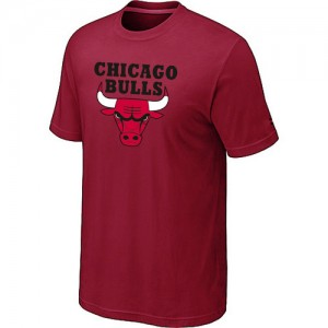 T-shirt à manches courtes Chicago Bulls NBA Big & Tall Rouge - Homme