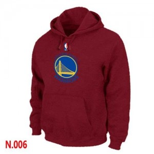 Pullover Sweat à capuche Golden State Warriors NBA Rouge - Homme