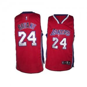 Los Angeles Lakers Kobe Bryant #24 Authentic Maillot d'équipe de NBA - Rouge pour Homme