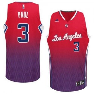 Maillot NBA Swingman Chris Paul #3 Los Angeles Clippers Resonate Fashion Rouge - Homme