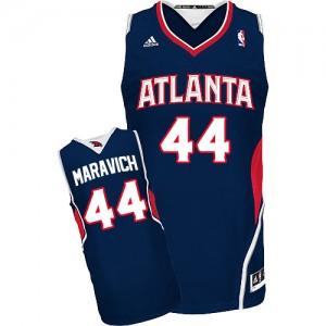 Maillot Swingman Atlanta Hawks NBA Road Bleu marin - #44 Pete Maravich - Homme