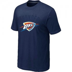 T-Shirts NBA Oklahoma City Thunder Marine Big & Tall - Homme
