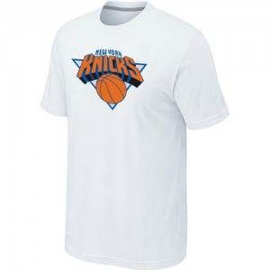T-Shirts NBA New York Knicks Big & Tall Blanc - Homme