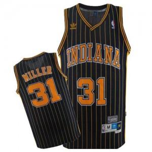 Indiana Pacers #31 Mitchell and Ness Throwback Bleu marin Swingman Maillot d'équipe de NBA Le meilleur cadeau - Reggie Miller pour Homme