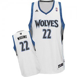 Maillot Swingman Minnesota Timberwolves NBA Home Blanc - #22 Andrew Wiggins - Homme