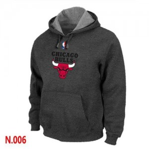 Sweat à capuche NBA Noir Chicago Bulls Homme