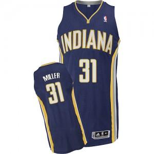 Indiana Pacers #31 Adidas Road Bleu marin Authentic Maillot d'équipe de NBA la vente - Reggie Miller pour Homme