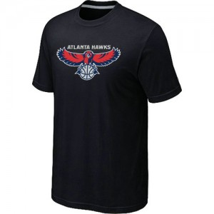 Atlanta Hawks Big & Tall Noir T-Shirts d'équipe de NBA en vente en ligne - pour Homme