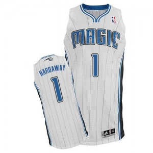 Maillot NBA Orlando Magic #1 Penny Hardaway Blanc Adidas Authentic Home - Homme