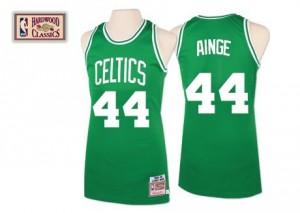 Boston Celtics Mitchell and Ness Danny Ainge #44 Throwback Swingman Maillot d'équipe de NBA - Vert pour Homme