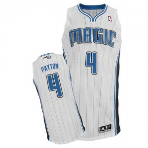 Maillot NBA Authentic Elfrid Payton #4 Orlando Magic Home Blanc - Homme
