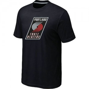 T-Shirts NBA Portland Trail Blazers Noir Big & Tall - Homme
