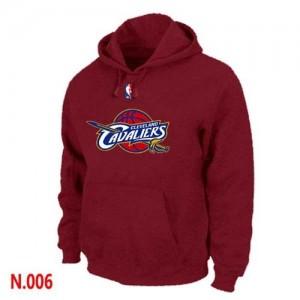 Cleveland Cavaliers Rouge Sweat à capuche d'équipe de NBA Soldes discount - pour Homme