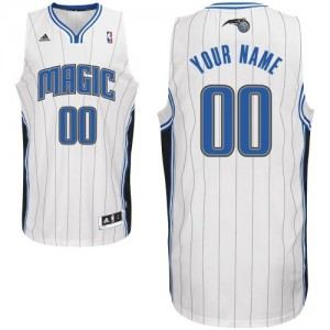 Maillot NBA Swingman Personnalisé Orlando Magic Home Blanc - Homme