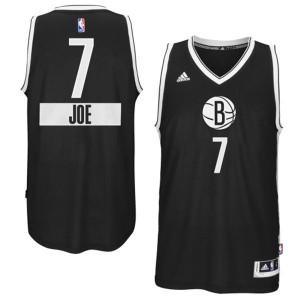 Maillot Authentic Brooklyn Nets NBA 2014-15 Christmas Day Noir - #7 Joe Johnson - Homme