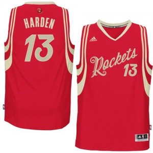 Maillot NBA Swingman James Harden #13 Houston Rockets 2015-16 Christmas Day Rouge - Homme