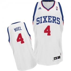 Maillot NBA Swingman Nerlens Noel #4 Philadelphia 76ers Home Blanc - Homme