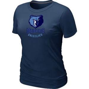 Memphis Grizzlies Big & Tall T-Shirts d'équipe de NBA - Marine pour Femme