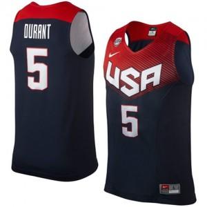 Maillot NBA Swingman Kevin Durant #5 Team USA 2014 Dream Team Bleu marin - Homme